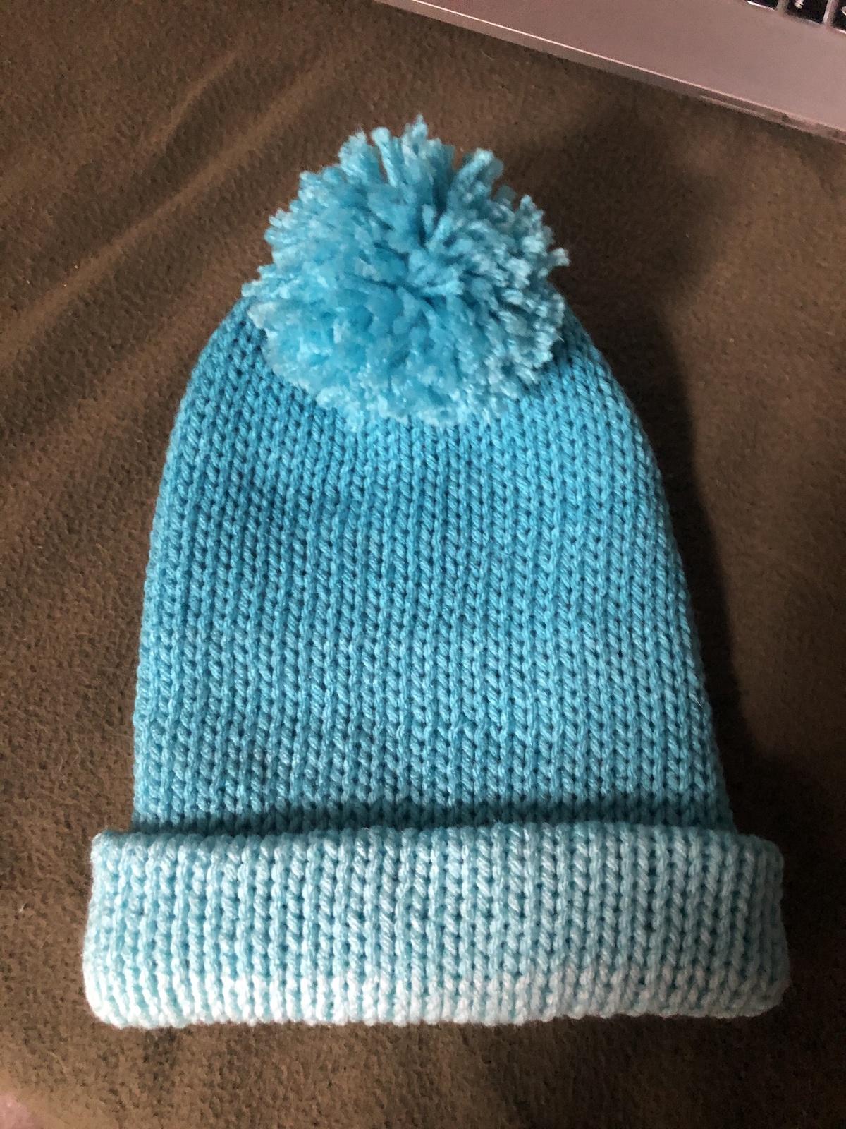 Red Heart Yarn Hat